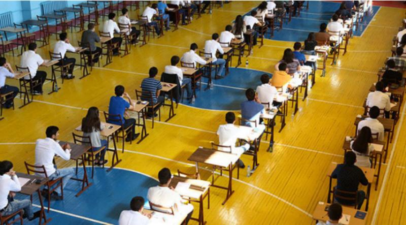 Այսօր շրջանավարտ-դիմորդները քննության հանձնեցին մաթեմատիկայից