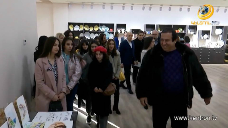 Գ.Ծառուկյանի հանդիպումը ուսանողների հետ. մրցույթի հաղթողն աշխատանքի անցավ սպասքի գործարանում