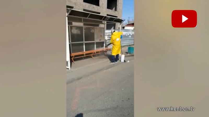 Ախտահանման ամենօրյա աշխատանքներ Երևանում՝ «Գ.Ծառուկյան» հիմնադրամի ջանքերով