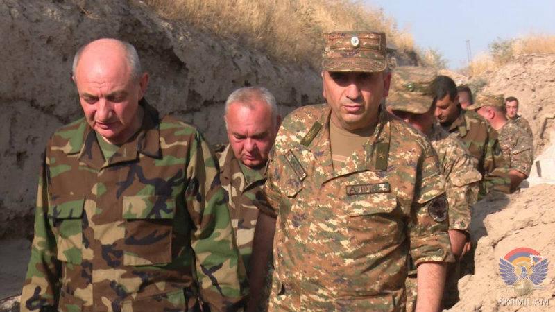 Արցախի ՊԲ-ի հրամանատար Կարեն Աբրահամյանին շնորհվել է գեներալ-լեյտենանտի զինվորական կոչում