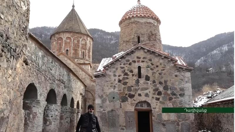 Հայ ուխտավորներն այցելել են Դադիվանք․ եկեղեցում պատարագ է մատուցվել (տեսանյութ)