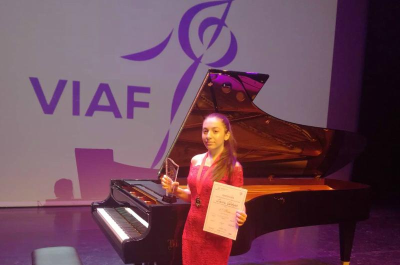Հայ երիտասարդ դաշնակահարուհին Վիեննայում արժանացել է 1-ին մրցանակի