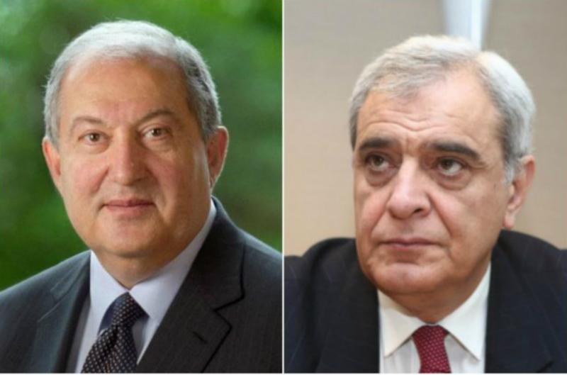 Դավիթ Շահնազարյանը կոչով դիմել է Արմեն Սարգսյանին