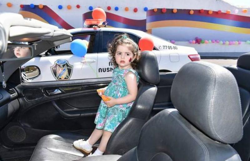 Ռազմական ոստիկանությունում կազմակերպվել է Երեխաների պաշտպանության միջազգային օրվան նվիրված տոնական միջոցառում