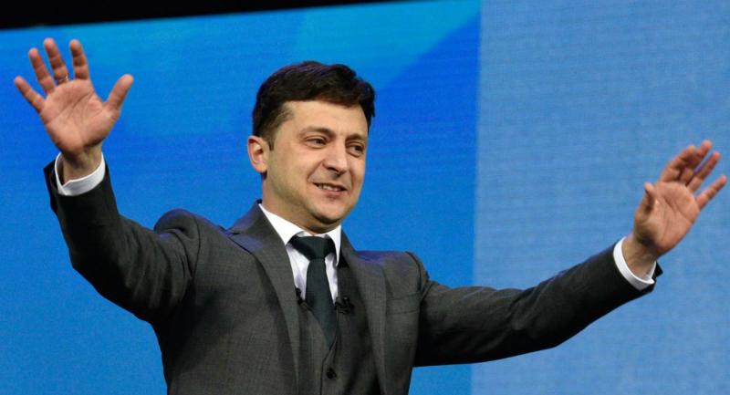 Վլադիմիր Զելենսկին ստանձնեց Ուկրաինայի նախագահի պաշտոնը