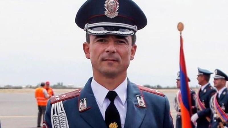 Արցախում հերոսաբար զոհվել է ոստիկանության զորքերի հրամանատարներից գնդապետ Արտյոմ Միրզոյանը