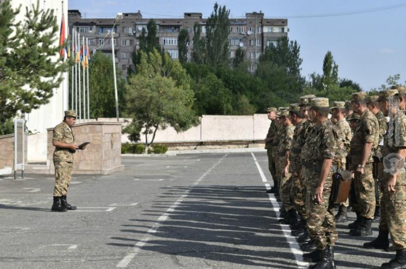 ՀՀ զինծառայողները եռօրյա հավաք-պարապմունքներից հետո քննություն են հանձնել ֆիզիկական և կրակային պատրաստությունից