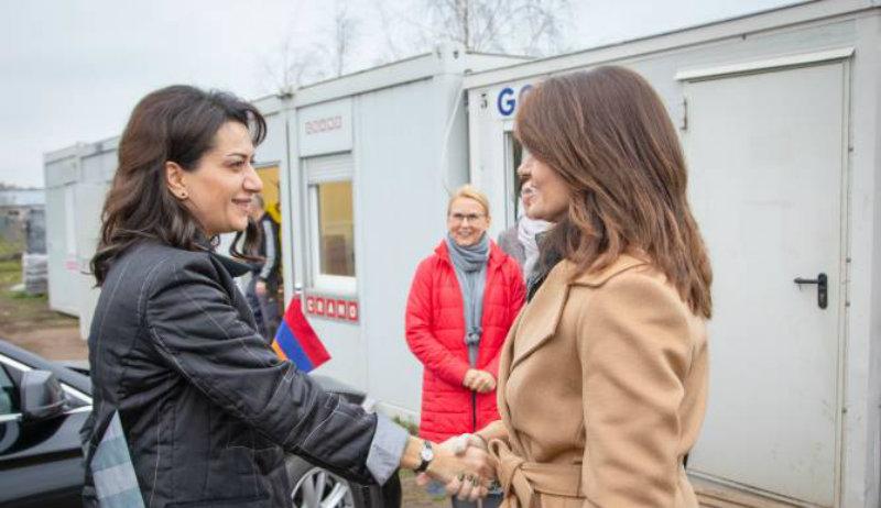 Աննա Հակոբյանն ու Լիտվայի վարչապետի տիկինը քննարկել են համատեղ նախաձեռնությունների հնարավորությունը