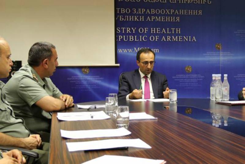 ՀՀ առողջապահության նախարարը զորակոչային հանձնաժողովներին հորդորել է արագ և օբյեկտիվ անցկացնել զորակոչի աշխատանքները