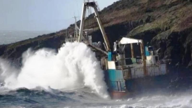 Իռլանդիայի ափերին ուրվական-նավ է մոտեցել