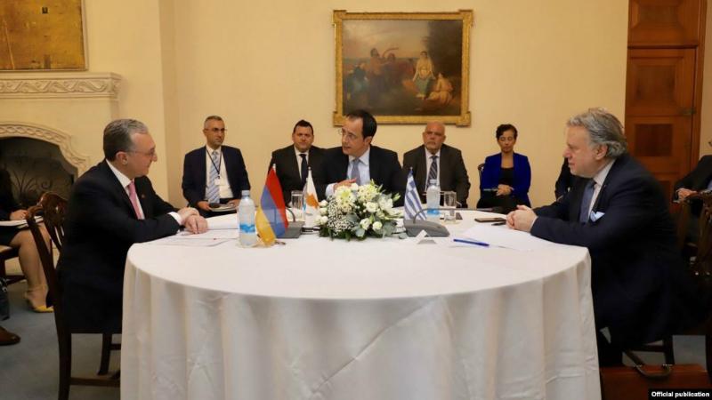 «Հայաստանի Հանրապետություն». Արցախյան հիմնախնդիրը Հայաստան-Հունաստան-Կիպրոս եռակողմ համագործակցության օրակարգում կլինի