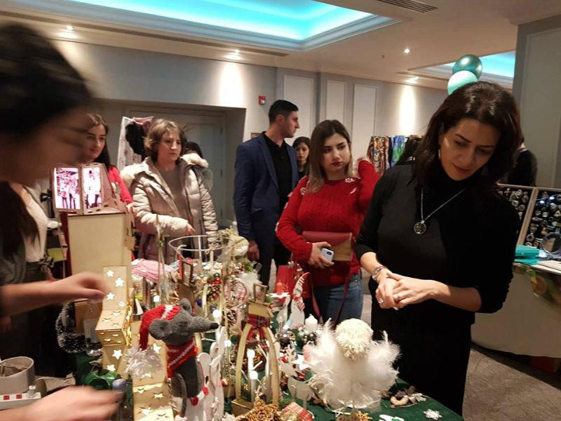 Մարիամի հետ կիրակի երեկոն անցկացրել ենք Երևանում բացված Ամանորյա տոնավաճառում. Աննա Հակոբյան