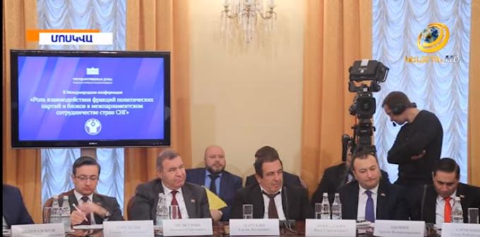 Գ.Ծառուկյանը Պետդումայում հանդիպել է Սերգեյ Նեվերովին և մասնակցել միջազգային համաժողովի
