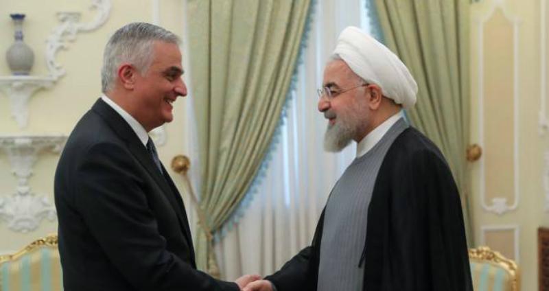 ՀՀ փոխվարչապետն Իրանի նախագահի  հետ քննարկել է էներգետիկ ոլորտում համագործակցության հարցեր