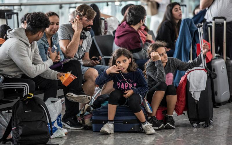 Լոնդոնի օդանավակայաններում 15 հազար ուղևոր է մնացել