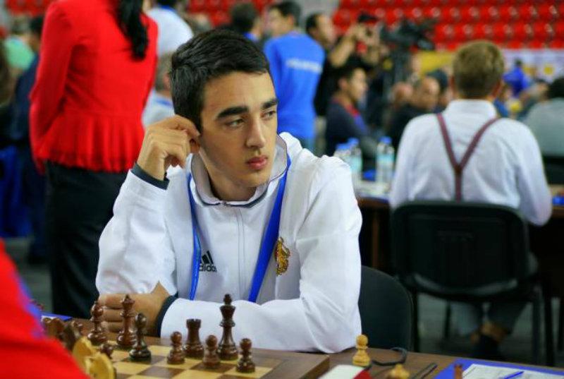 Հայկ Մարտիրոսյանը «Նոր աստղեր» շախմատային մրցաշարի առաջատարներից է