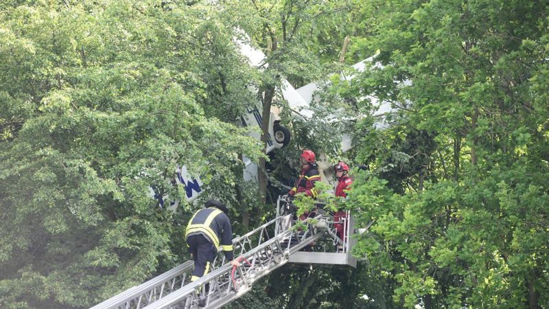 Վայրէջք ծառերի վրա.արտասովոր դեպք Գերմանիայում