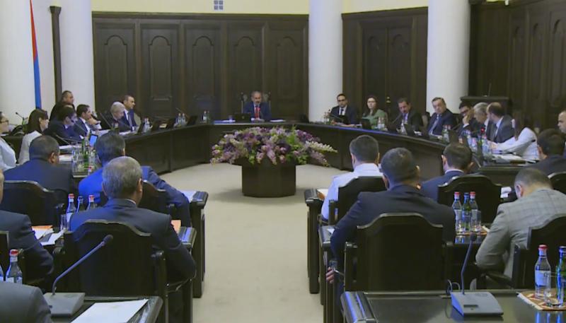 Կառավարությունն առանց քննարկման ընդունեց 39 որոշում