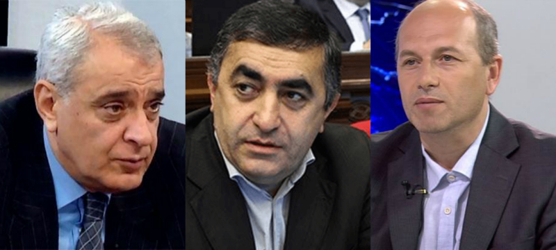 Արմեն Ռուստամյանը, Դավիթ Շահնազարյանը և Գեղամ Նազարյանը հանդիպել են ՌԴ դեսպանի հետ