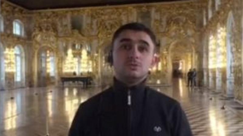 «Ցարսկոյե սելո»-ում հայ երգիչն ակապելլա կատարել է Կոմիտասի «Կռունկ»-ը