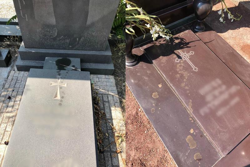 Պղծվել են Կարմիր բլուրի գերեզմանատան շիրիմները