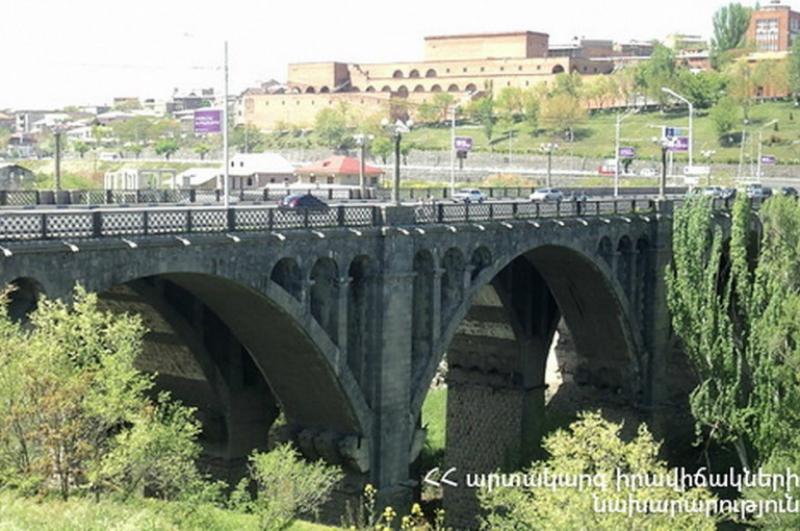 Փրկարարներին հաջողվել է կանխել քաղաքացու ինքնասպանության փորձը Կիևյան կամրջից
