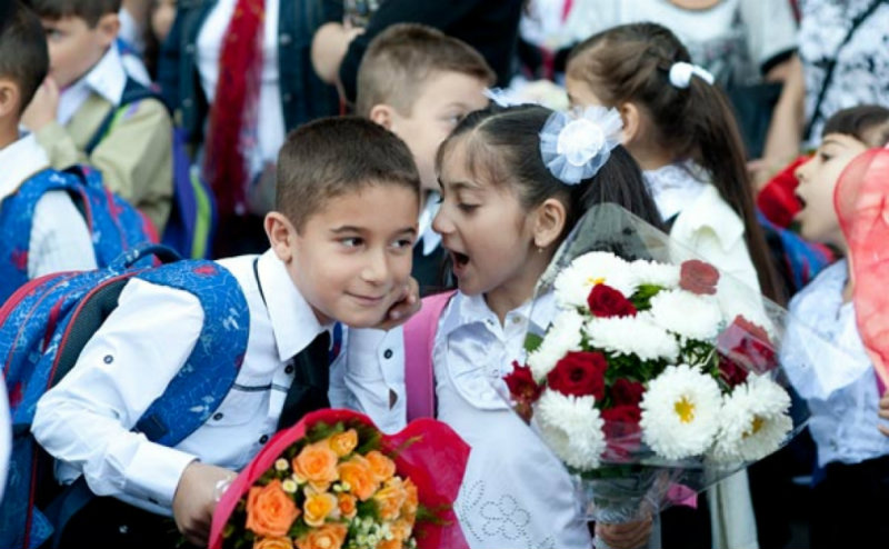 Առաջին դասարան է ընդունվել 42.000 աշակերտ
