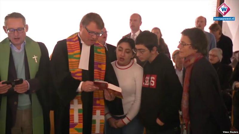 Հաագայի եկեղեցին դադարեցրել է հայ ընտանիքի արտաքսումը կանխելու համար մատուցվող շուրջօրյա պատարագը