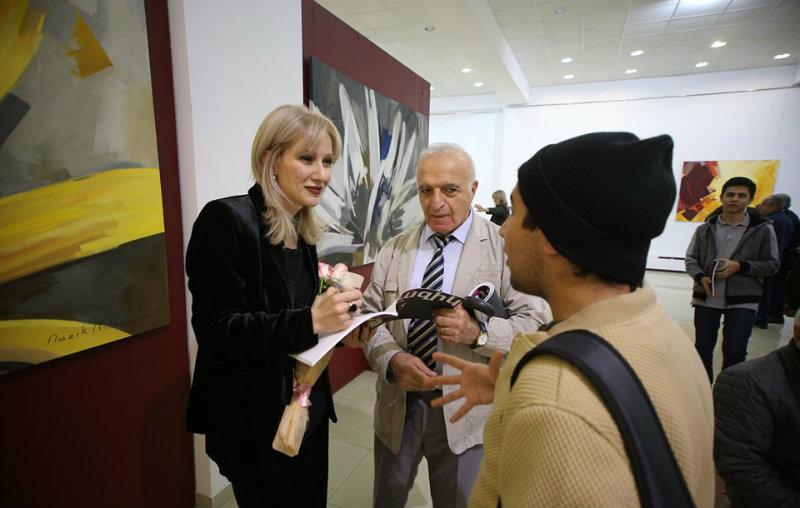Գաղափարներիս և մտքերիս հիմնական ներշնչանքի աղբյուրը բնությունն է. կայացավ Նազիկ Ասլանյանի գեղանկարների ցուցահանդեսը
