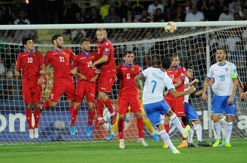 Հայտնի է Հայաստանի հավաքականի մեկնարկային կազմը Իտալիայի դեմ մրցավեճում
