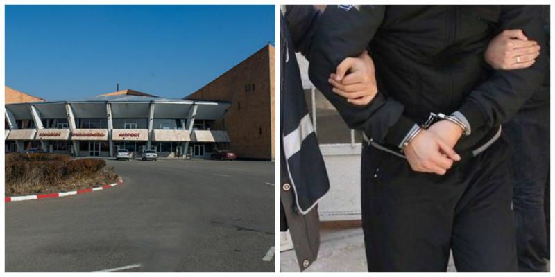 «Շիրակ» օդանավակայանից բերման է ենթարկվել հետախուզման մեջ գտնվող տղամարդը