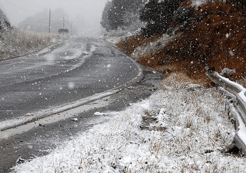 Հանրապետության որոշ շրջաններում ձյուն է տեղում