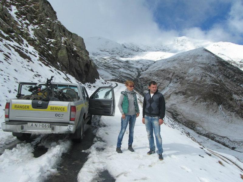Վրաստանի արևելքում ձյուն է տեղացել