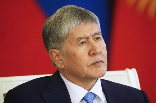 Ղրղզստանի խորհրդարանը կողմ է քվեարկել Ալմազբեկ Աթամբաևին անձեռնմխելիությունից զրկելու օգտին