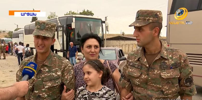 «Գ.Ծառուկյան» հիմնադրամի շնորհիվ 700-ից ավելի հարազատներ Արցախում տեսակցեցին զինվոր որդիներին