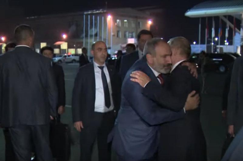 Օդանավակայանում ՌԴ նախագահի հետ մեր զրույցը նոր խթան կտա հայ-ռուսական հարաբերություններին. Նիկոլ Փաշինյան