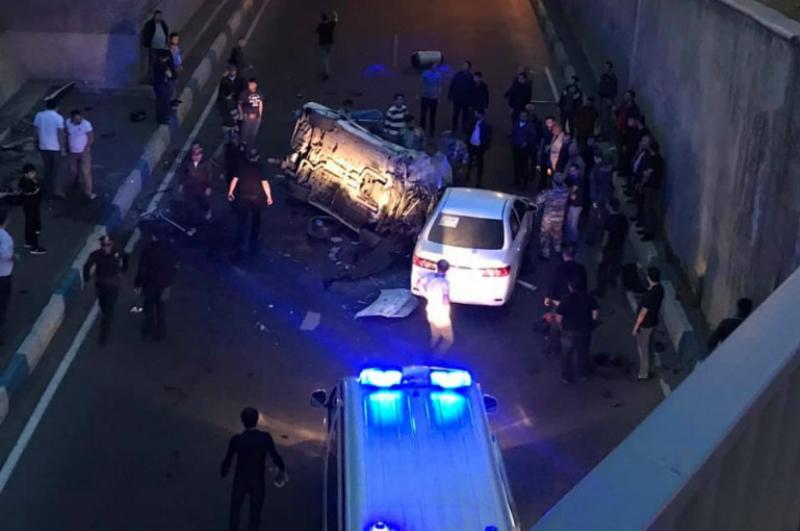 Խոշոր ՃՏՊ Սարալանջում, «Mercedes»-ը կամրջից մոտ 10 մետր գահավիժել է, կա 2 վիրավոր