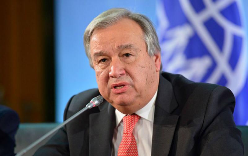 ՄԱԿ-ի գլխավոր քարտուղարը Հայաստանում ոչ բռնի իշխանափոխությունը օրինակելի է համարում ողջ  աշխարհի համար