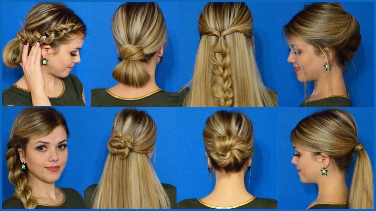 10 տարբերակ մազերը հեշտ և արագ հարդարելու համար (տեսանյութ)