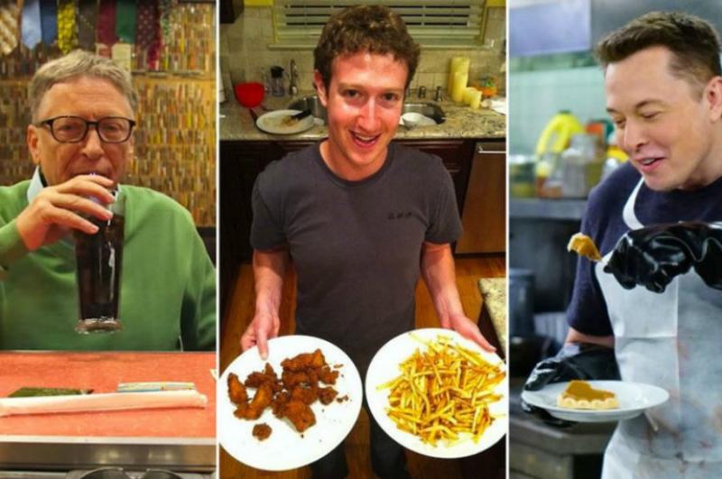 Ինչ են ուտում ՏՏ ոլորտի միլիարդատերերը. gazeta.ru-ի անդրադարձը
