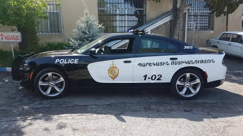 ՀՀ ոստիկանության նոր պարեկային մեքենաները (լուսանկարներ)