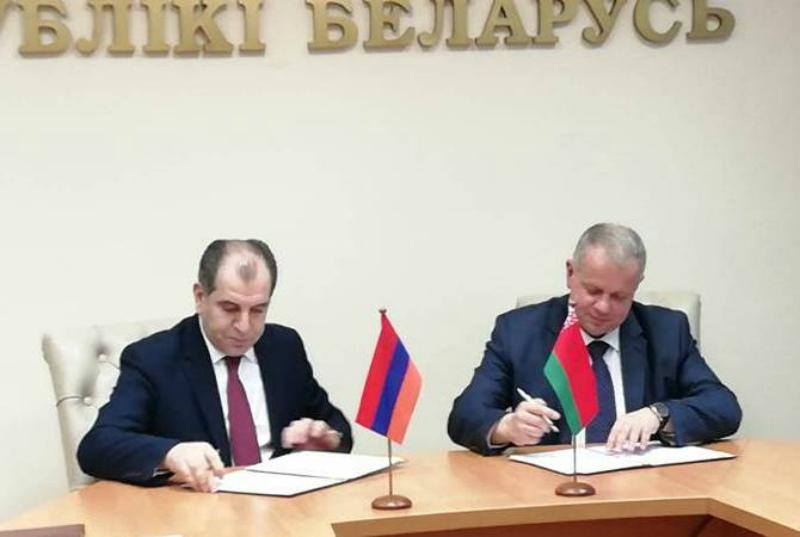 Հայաստանի և Բելառուսի մշակույթի նախարարությունների միջև ստորագրվել է 2019-2022թթ. փոխգործակցության ծրագիր