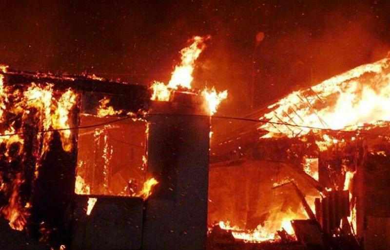Լոռու մարզում տունն ամբողջությամբ այրվել է