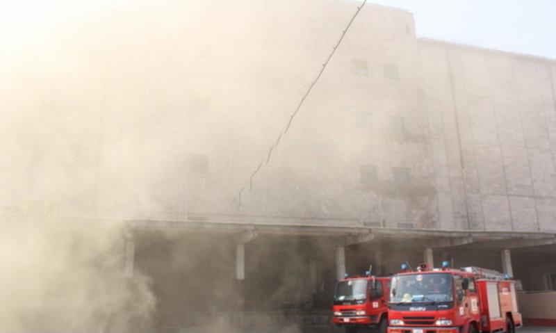 «Ձյունիկ սառնարան» ՍՊԸ-ի շենքից կրկին ծուխ է նկատվում