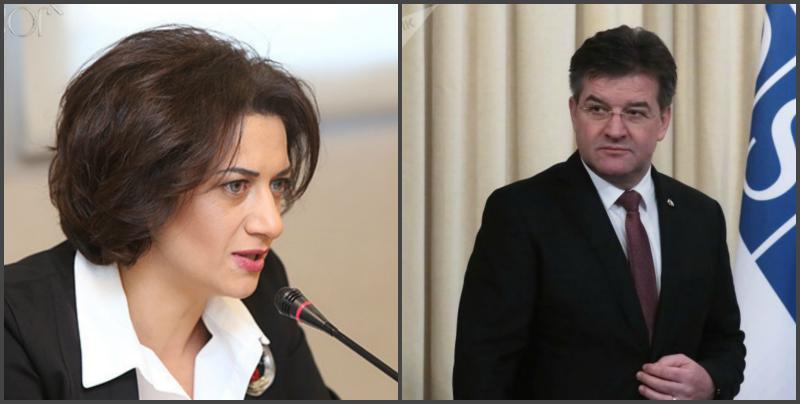 ԵԱՀԿ գործող նախագահն աջակցում է Աննա Հակոբյանի նախաձեռնությանը