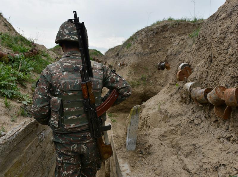 Շաբաթվա ընթացքում հակառակորդը հայկական դիրքերի ուղղությամբ արձակել է ավելի քան 1900 կրակոց