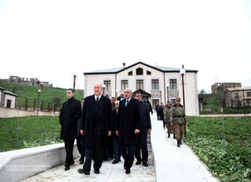 Բակո Սահակյանն ու Արմեն Սարգսյանը այցելել են Թալիշ
