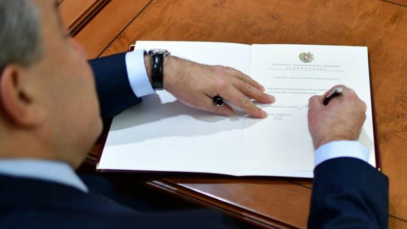 Արմեն Սարգսյանը ստորագրել է մի շարք օրենքներ