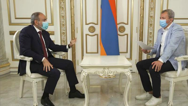 Նիկոլ Փաշինյանի հարցազրույցը РБК-ին՝ Մարգարիտա Սիմոնյանի գրառման, Թուրքիայի սպառնալիքների, ռուսական աջակցության մասին