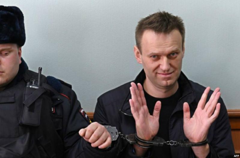 Ձերբակալվել է ռուս ընդդիմադիր գործիչ Ալեքսեյ Նավալնին